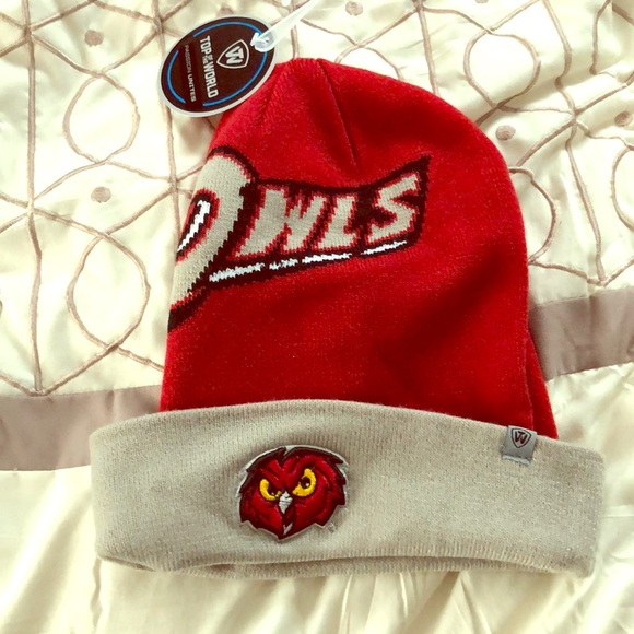 Top of the World Other - Temple Owls Winter Cap